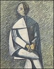 Seated Pierrot: Duilio Barnabe