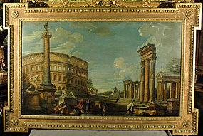Architectural Capriccio: Giovanni Paolo Panini