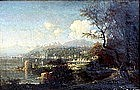 View of Sorrento & Vesuvius: George Loring Brown