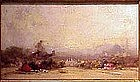 Sunrise View of Istanbul: Henri DuVieux