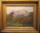 Edinburogh Castle in Landscape:Lionel Perry Smythe