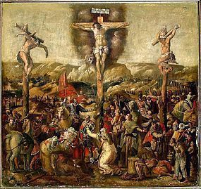 16th C Italian Crucifixion