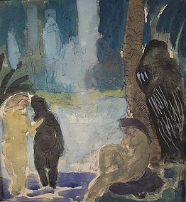 """Baigneurs"": Charles Du Fresne"