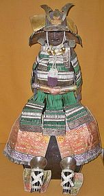 Antique Japanese Meiji P. Boy's Day Armor