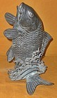 Antique Japanese Bronze Carp, Garden Water Spout