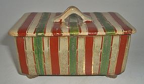 Antique Japanese Ceramic Tea Ceremony Sweets Box