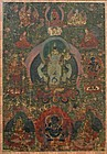 17th Century Tibetan Avalokitesvara Thangka