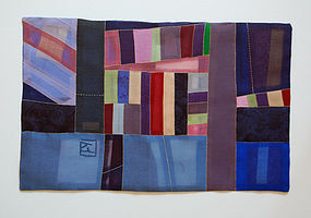 Korean Contemporary Bojagi by Textile Artist Won Ju Seo