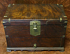 Rare and Elegant Gingko Wood Scholar's Document Box