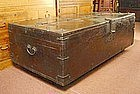 Large Korean Antique Coin Chest