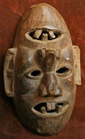 Nepalese Middle Hills Janus Mask
