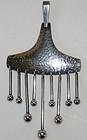 Hermann Siersbol Denmark Kinetic 1960s Pendant