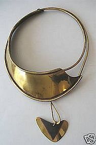 Important Art Smith Early Modernist Kinetic Necklace