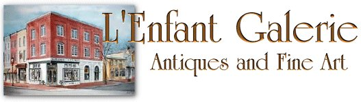 L'Enfant Gallery - Fine Art Paintings, Asian Art, Antiques