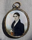 Abraham Parsell Miniature Painting c1825