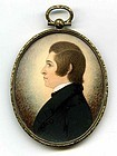 J.H. Gillespie Miniature Painting  c1835