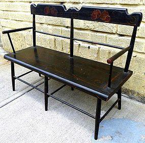 Awe Inspiring American Antique Child Or Dolls Bench C1820 Item 1179812 Inzonedesignstudio Interior Chair Design Inzonedesignstudiocom