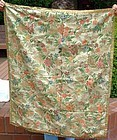Early French Brocade Large Textile Fragment c1720