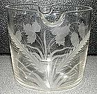 Rare English Wine Glass Rinser; c 1810