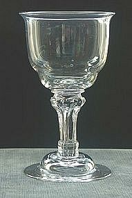 Antique English Champagne or Sweetmeat Glass; c 1750