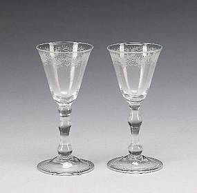 18th CENTURY GLASS VALUATIONS