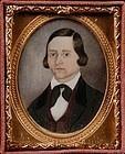 A Fine American Portrait Miniature c1845