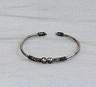 Siamese Silver bangle Bracelet