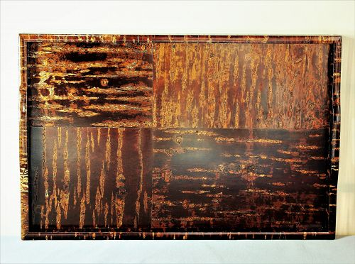 Japanese Wood large serving Tray