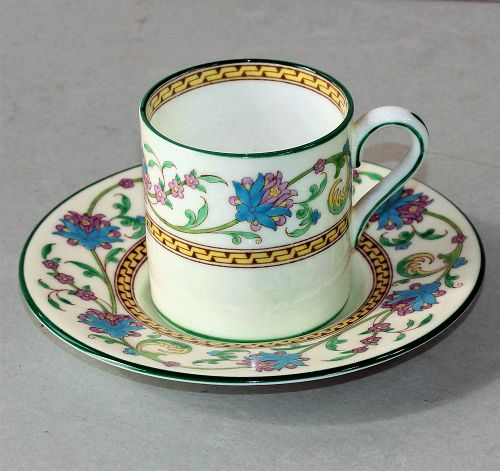 English Wedgwood Bone China Demitasse Cup and Saucer