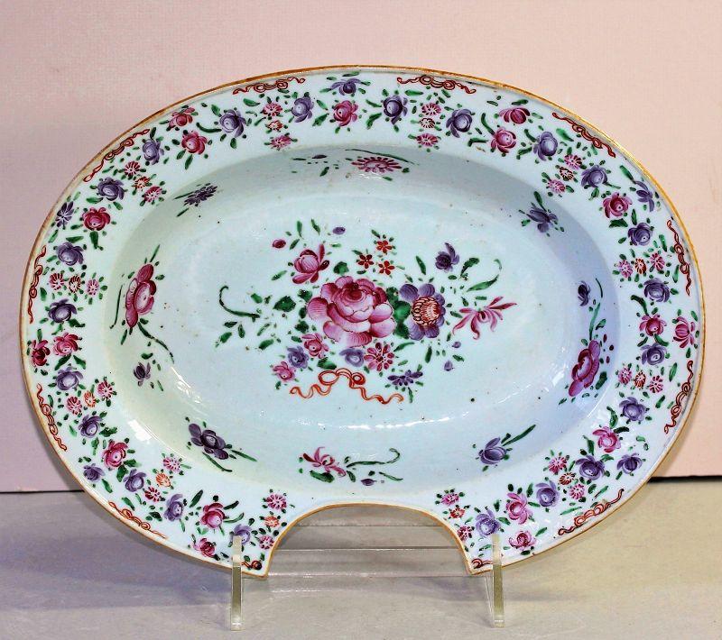 Chinese Export Famille Rose Porcelain Barber