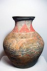 Han dynasty wonderful pot with painting