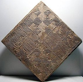 Han dynasty brick tile
