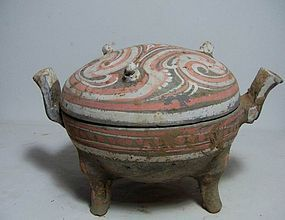 Han dynasty painted Ding