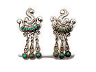 Matl Matilde Poulat Vintage Mexican Silver Earrings