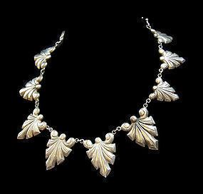 Victoria Mexican Silver Necklace Design Number 1