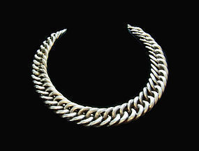 William Spratling Mexican Silver Huge Chain Necklace