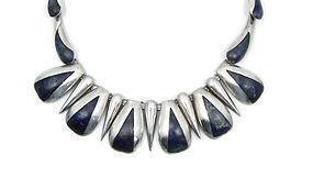 Ledesma Azurmalachite Mexican Silver Necklace