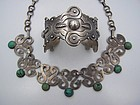 Vintage Mexican Silver Taxco  980  Cuff  /  Bracelet