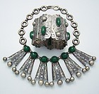 C. Molina For Anton's Vintage Mexican Silver Necklace & Bracelet