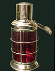 Asprey & Co Silver Plate Lantern Cocktail Shaker