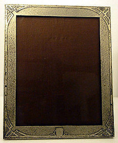 Sterling overlay Photo Frame, Smith Metals Art Co C1920
