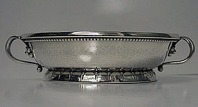 Georg Jensen Rare early two handled Bowl, C.1927.