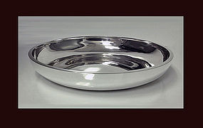 Gerald Benney English hallmarked Silver Bowl, London