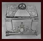 WMF Jugendstil Secessionist Silver plate Jewellery Box