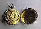 Georgian Vinaigrette Watch Form Birmingham 1817 S. Pemb
