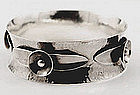Carl Poul Petersen Sterling Bangle Montreal C.1930