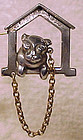 Vintage 1930s BONZO THE DOG IN DOGHOUSE SP PIN