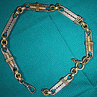 Unusual VICTORIAN WATCH CHAIN c1870s-80s