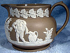 Rare CLEWS JASPERWARE CREAM JUG c1815-34