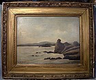 L.M. STEPHENSON (Canada) OIL ON BOARD PAINTING
